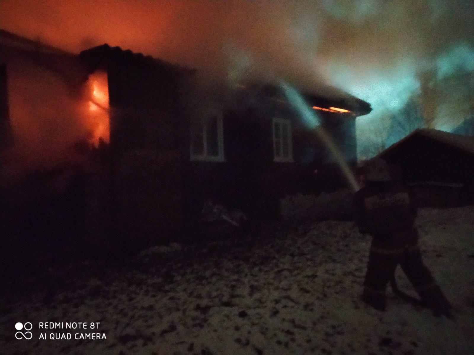 Пожар в Островском районе локализован