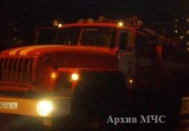 Пожар в Сусанинском районе — МЧС России по Костромской области