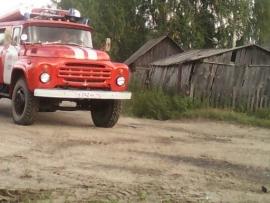 Пожар в Островском районе — МЧС России по Костромской области
