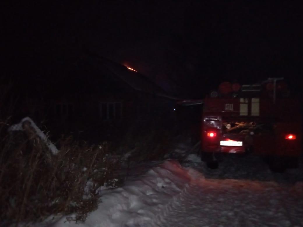 Пожар в Пыщугском районе локализован