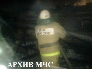 Пожар в г. Макарьев ликвидирован
