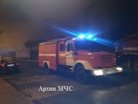 Пожар в г. Макарьев локализован