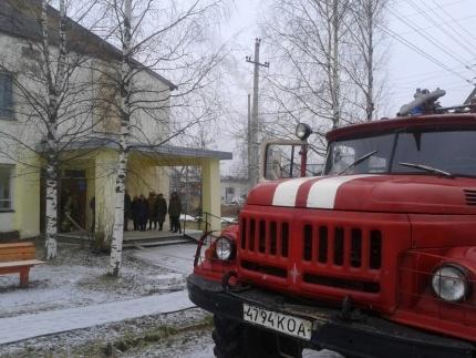 Пожар в г. Нерехта — МЧС России по Костромской области