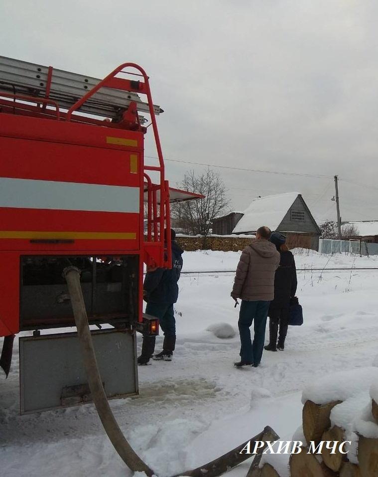 Пожар в г. Нерехта локализован