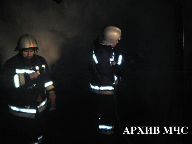 Пожар в Островском районе ликвидирован