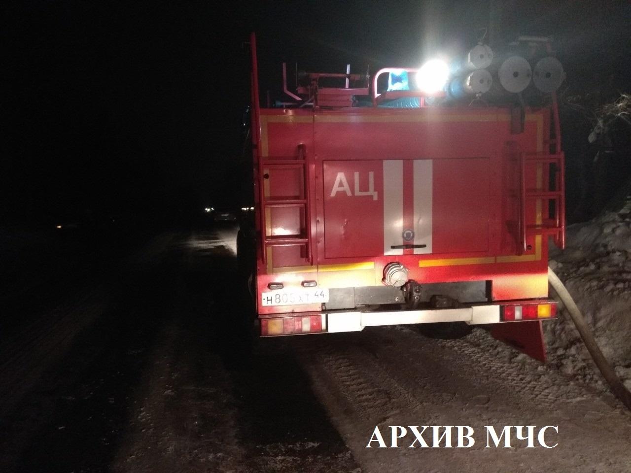 Пожар в Островском районе — МЧС России по Красноярскому краю