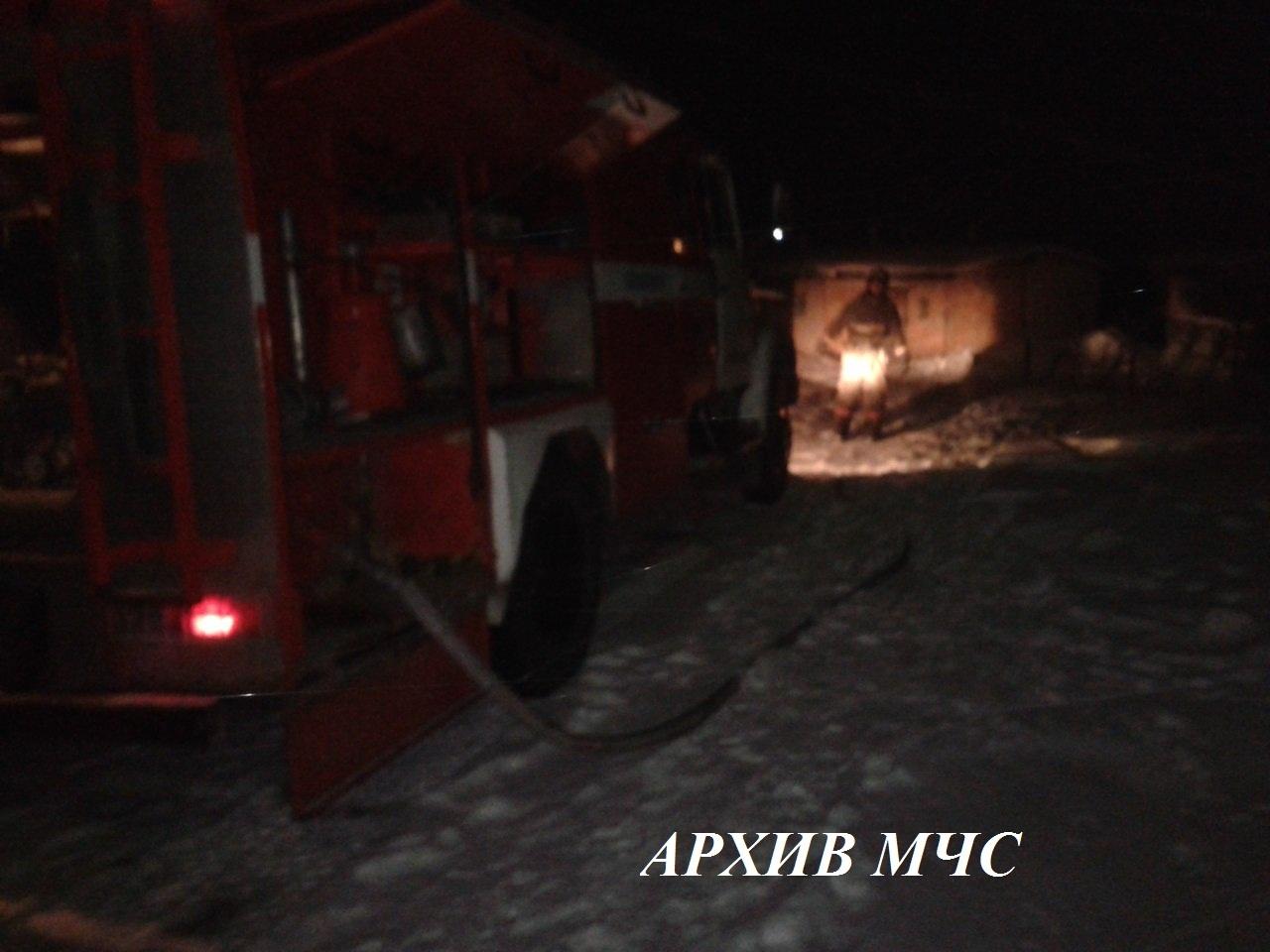 Пожар в Антроповском районе ликвидирован