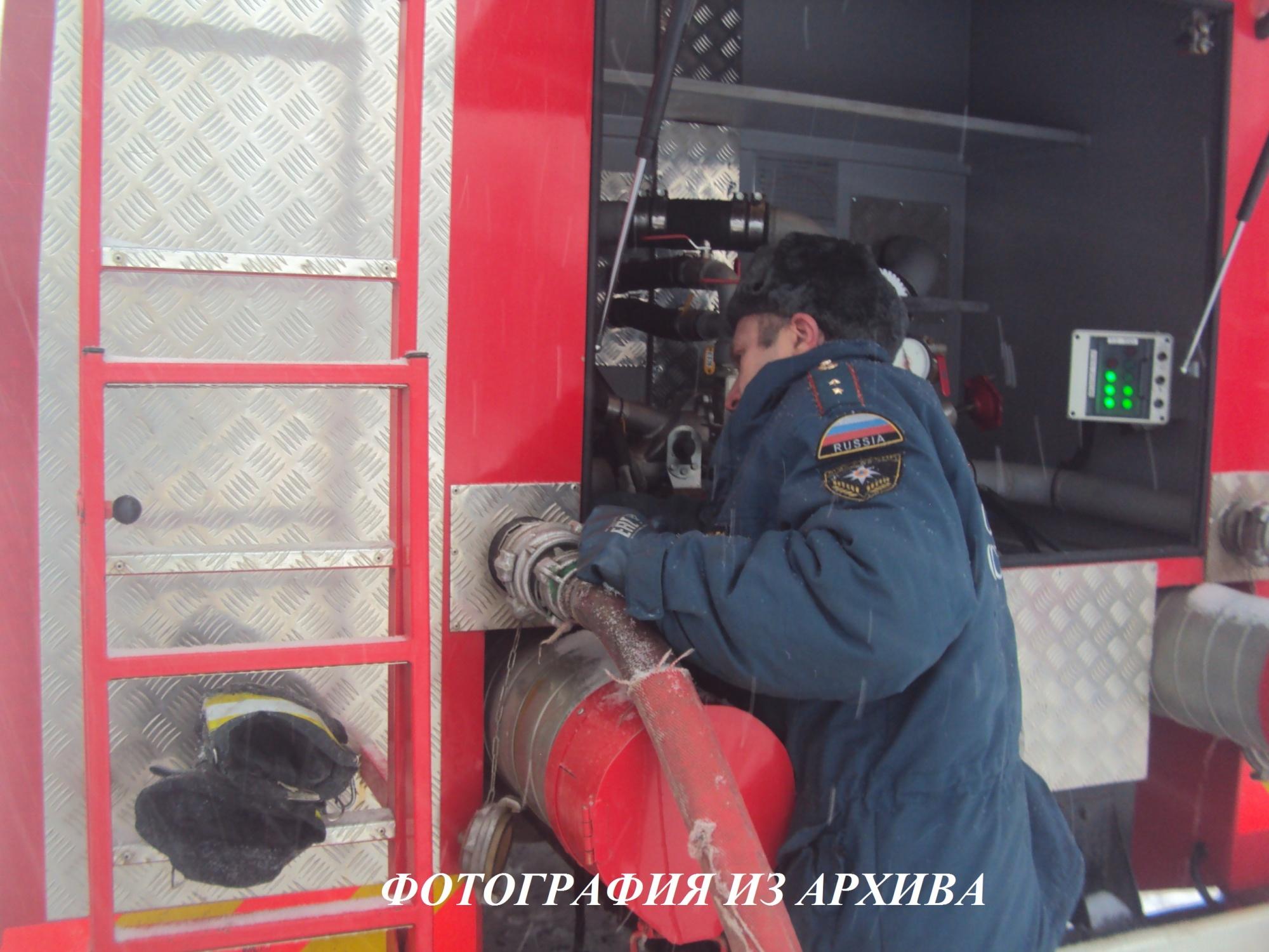Пожар в Антроповском районе локализован