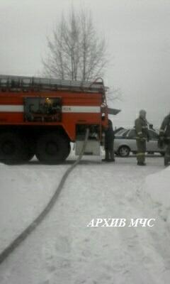 Пожар в Антроповском районе — МЧС России по Костромской области