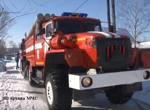 Пожар в Буйском районе — МЧС России по Костромской области