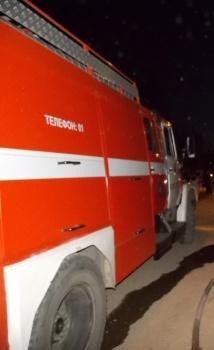 Пожар в Судиславском районе — МЧС России по Костромской области