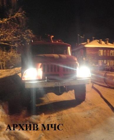 Пожар в Шарьинском районе — МЧС России по Костромской области