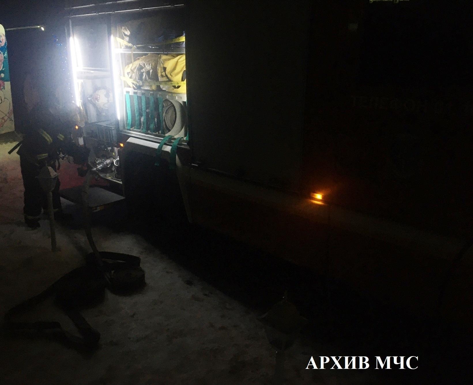 Пожар в Нерехтском районе ликвидирован