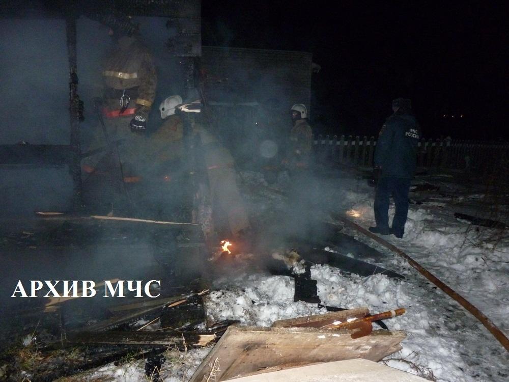 Пожар в Галичском районе ликвидирован