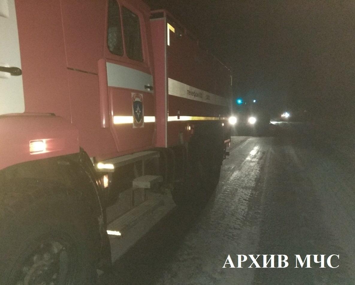 Пожар в Мантуровском районе локализован