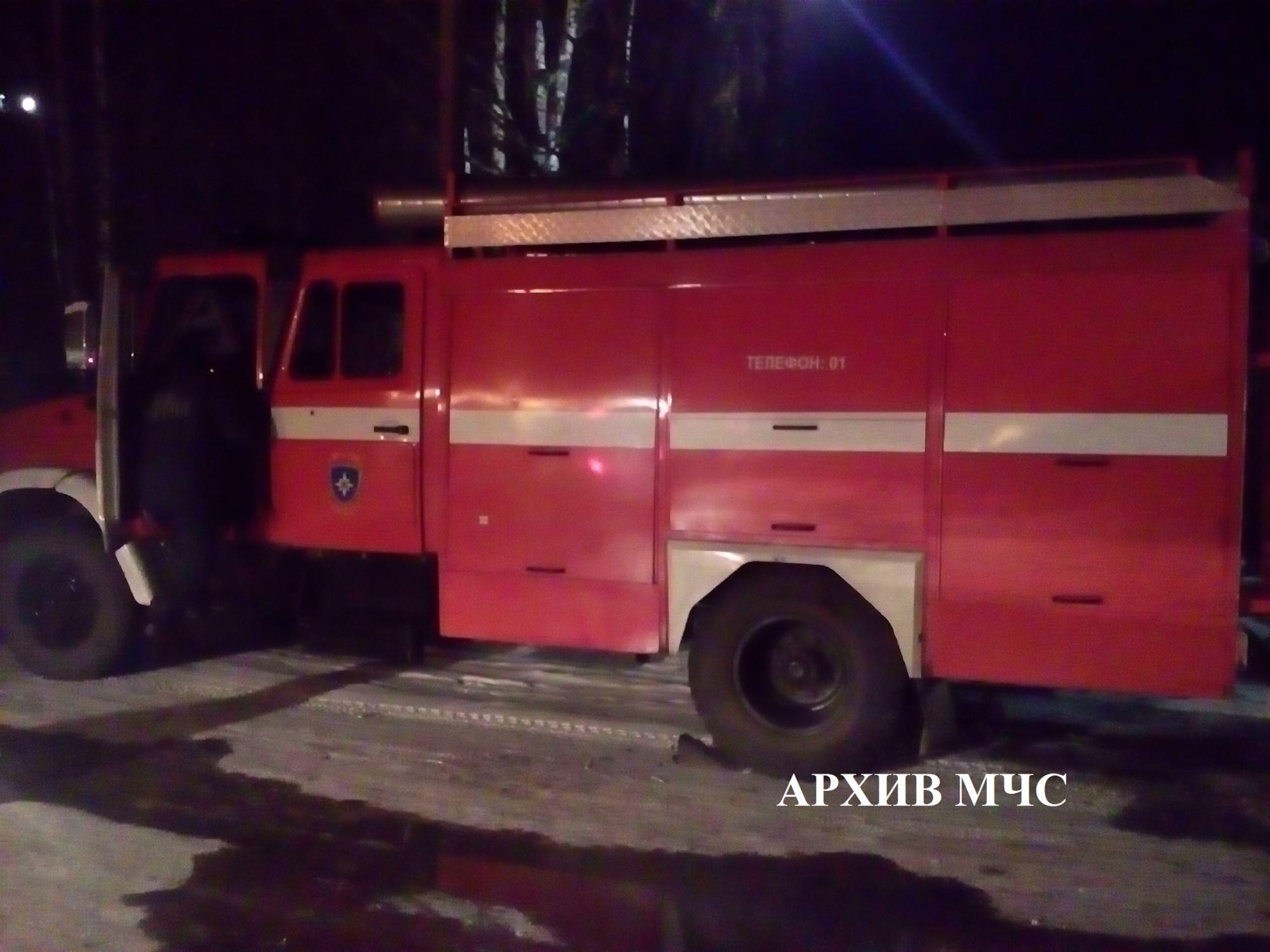 Пожар в Нерехтском районе — МЧС России по Костромской области
