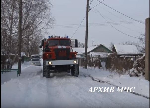 Пожар в Павинском районе — МЧС России по Костромской области