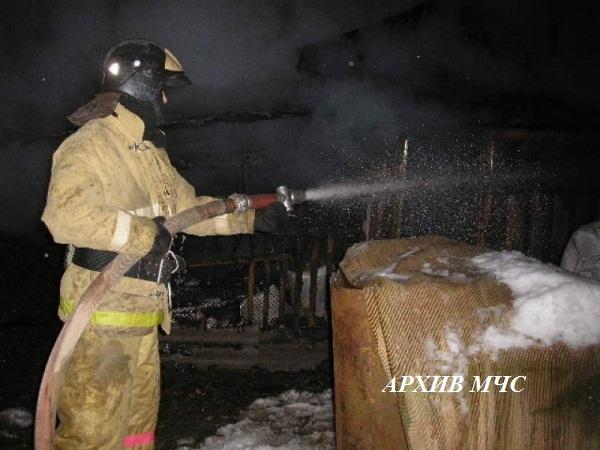 Пожар в Судиславском районе локализован