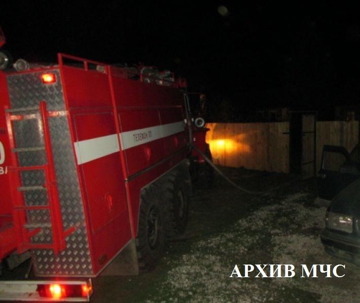 Пожар в Мантуровском районе ликвидирован