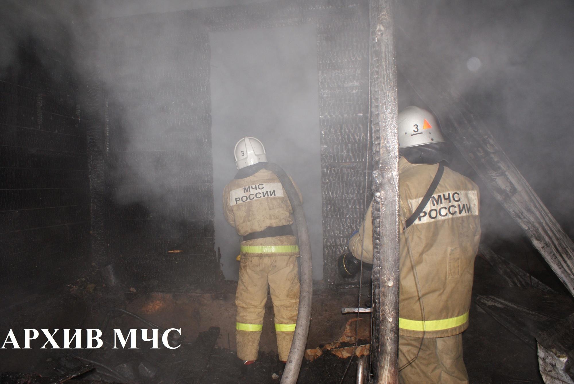 Пожар в Мантуровском районе — МЧС России по Костромской области