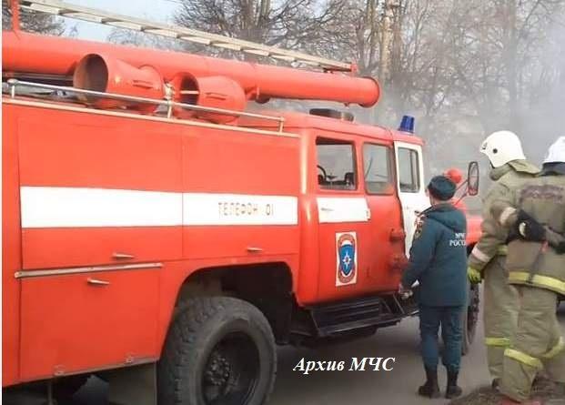 Пожар в Вохомском районе — МЧС России по Костромской области