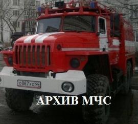 Пожар в г. Кострома ликвидирован