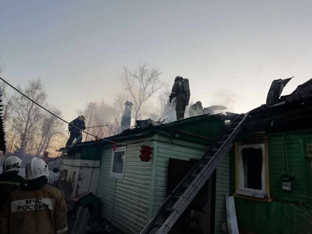 Пожар в г. Кострома локализован