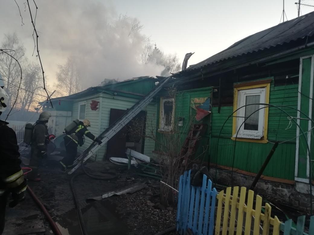 Пожар в г. Кострома — МЧС России по Красноярскому краю