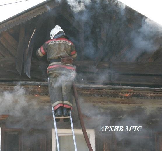 Пожар в Вохомском районе локализован