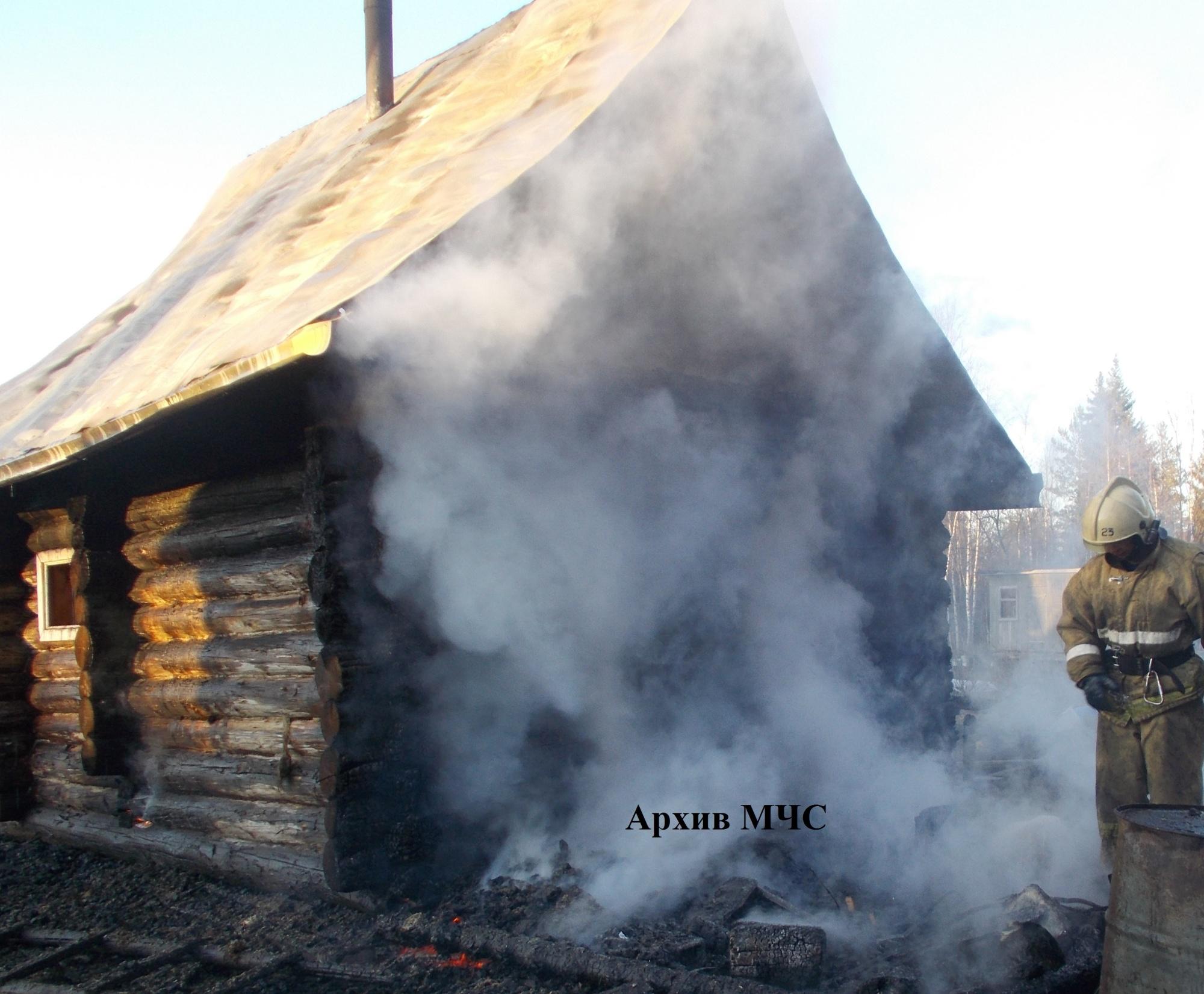 Пожар в Кадыйском районе ликвидирован