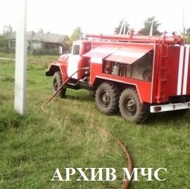 Пожар в Кадыйском районе — МЧС России по Костромской области