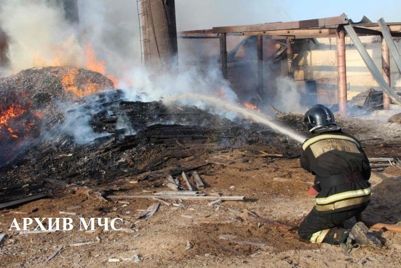 Пожар в г. Нея локализован — МЧС России по Костромской области