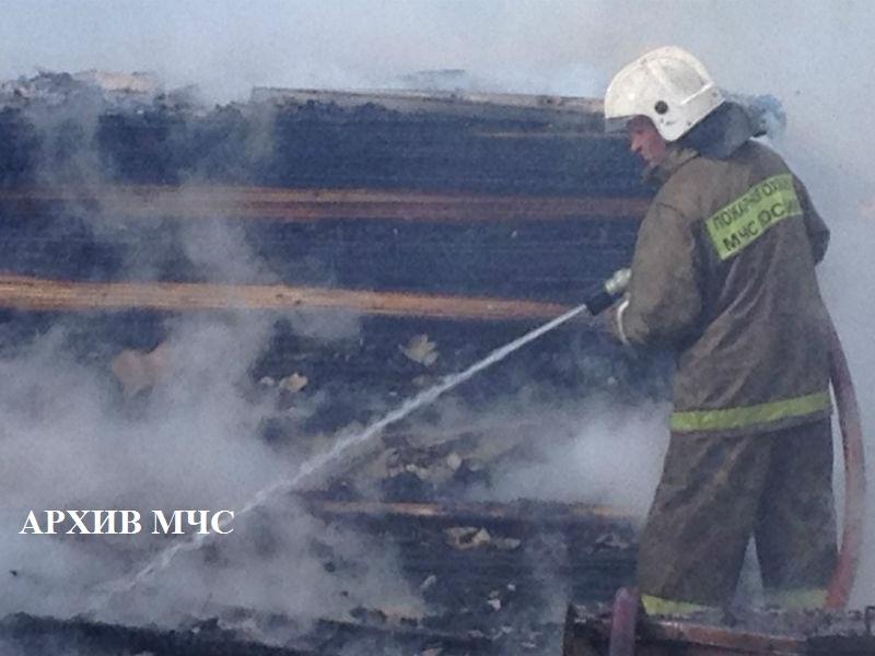 Пожар в г. Нея — МЧС России по Костромской области