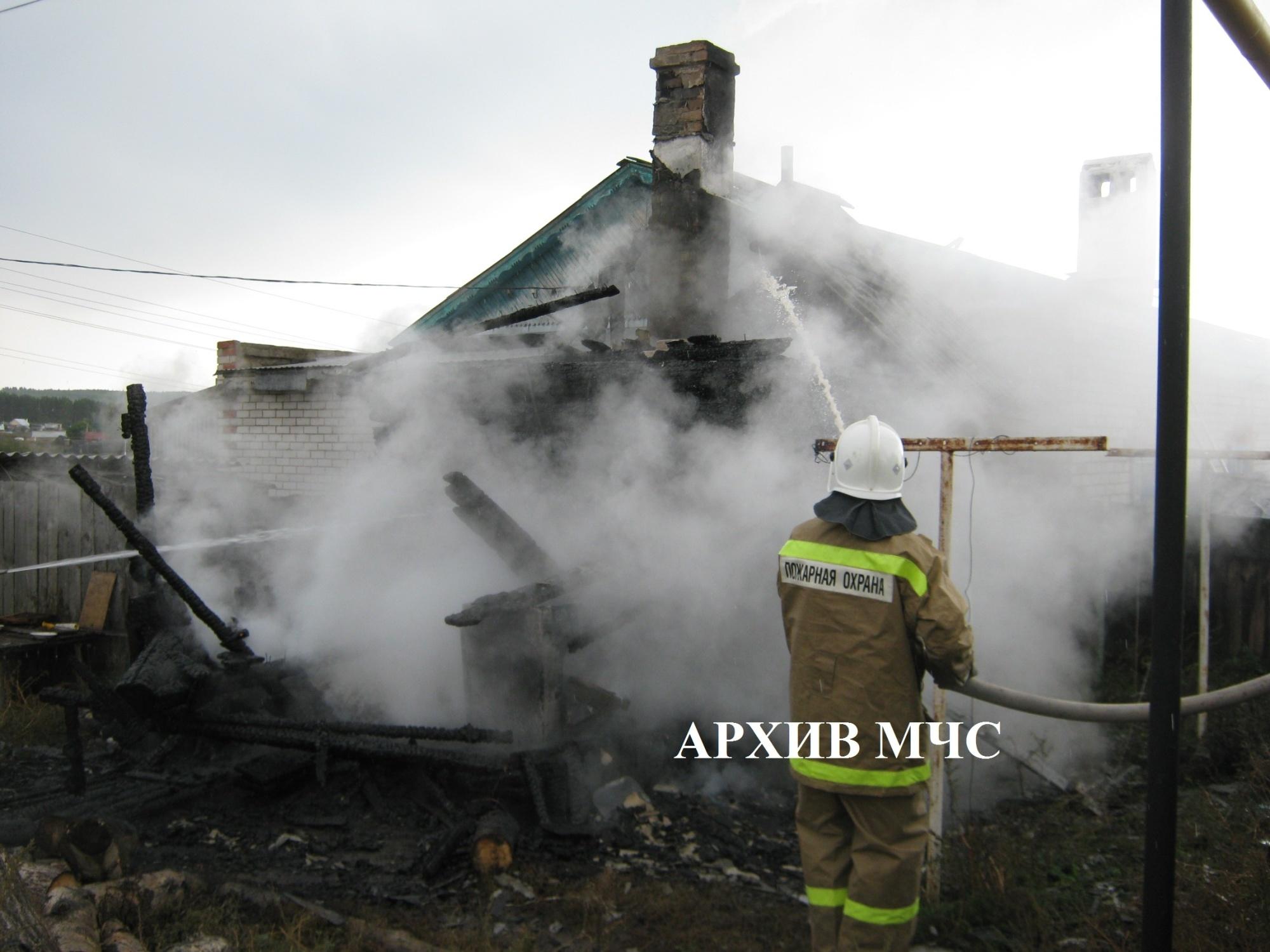 Пожар в п. Островское ликвидирован