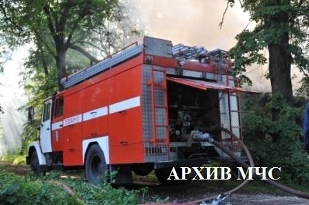 Пожар в п. Островское локализован
