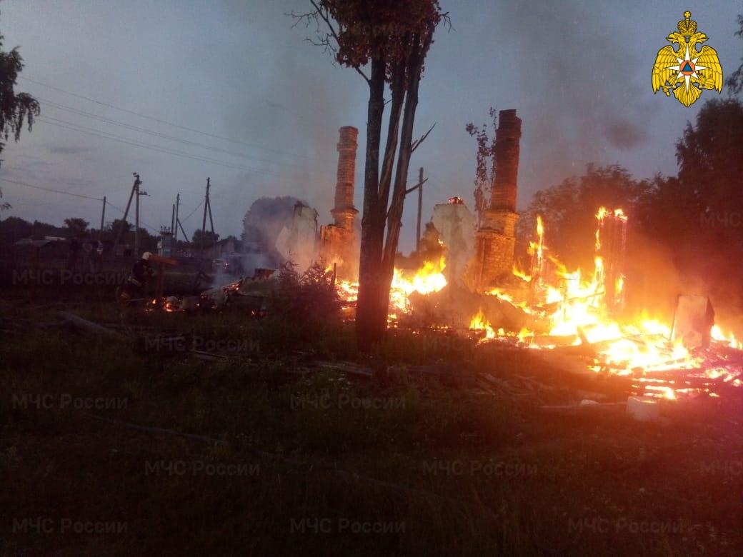 Пожар в Кологривском районе ликвидирован
