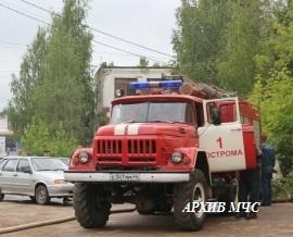 Пожар в городе Кострома — МЧС России по Красноярскому краю