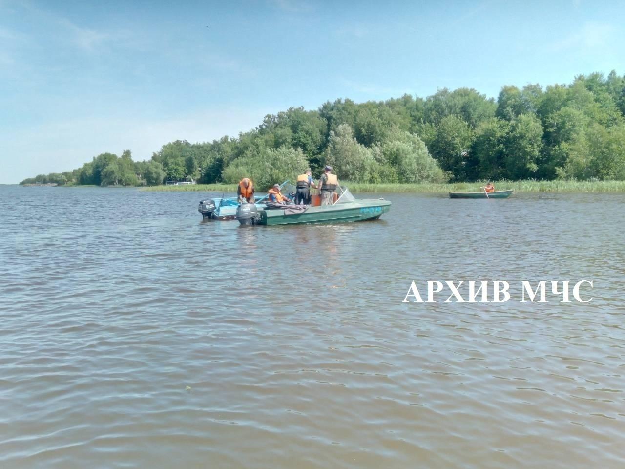 Происшествие на воде в Мантуровском районе