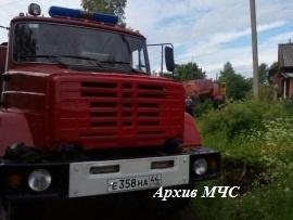 Пожар в Макарьевском районе локализован