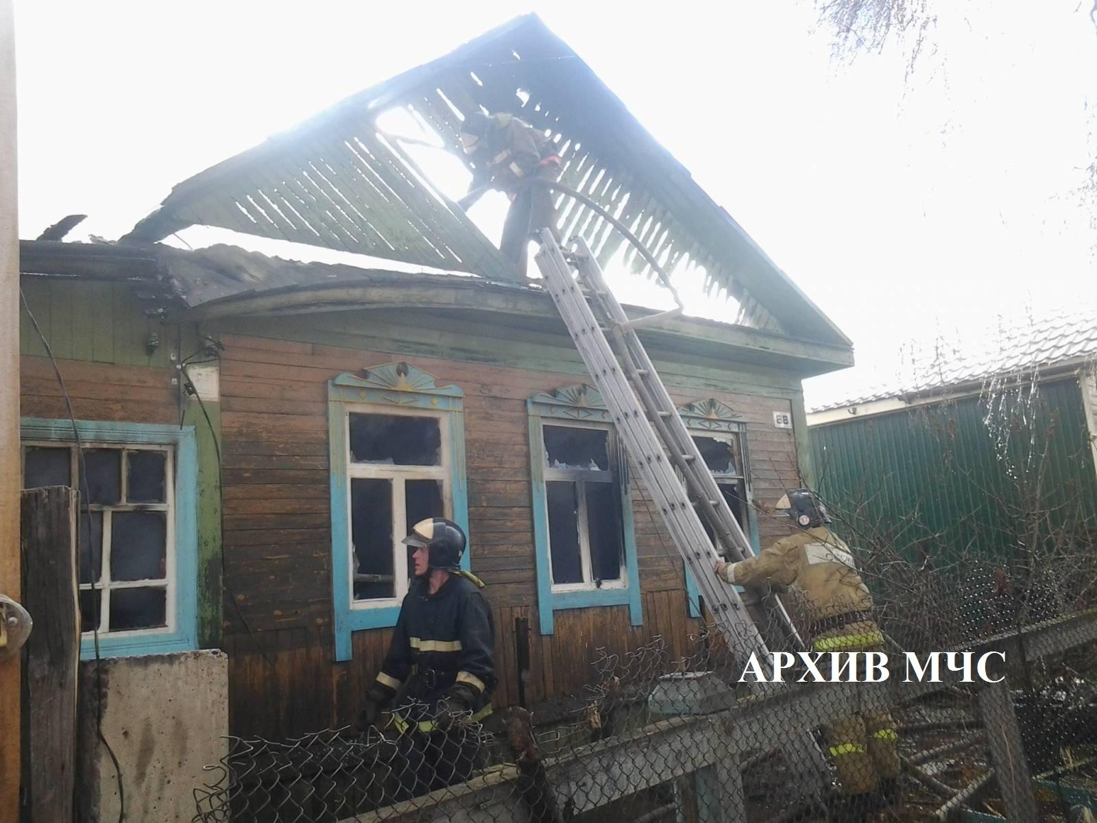 Пожар в г. Буй локализован — МЧС России по Костромской области