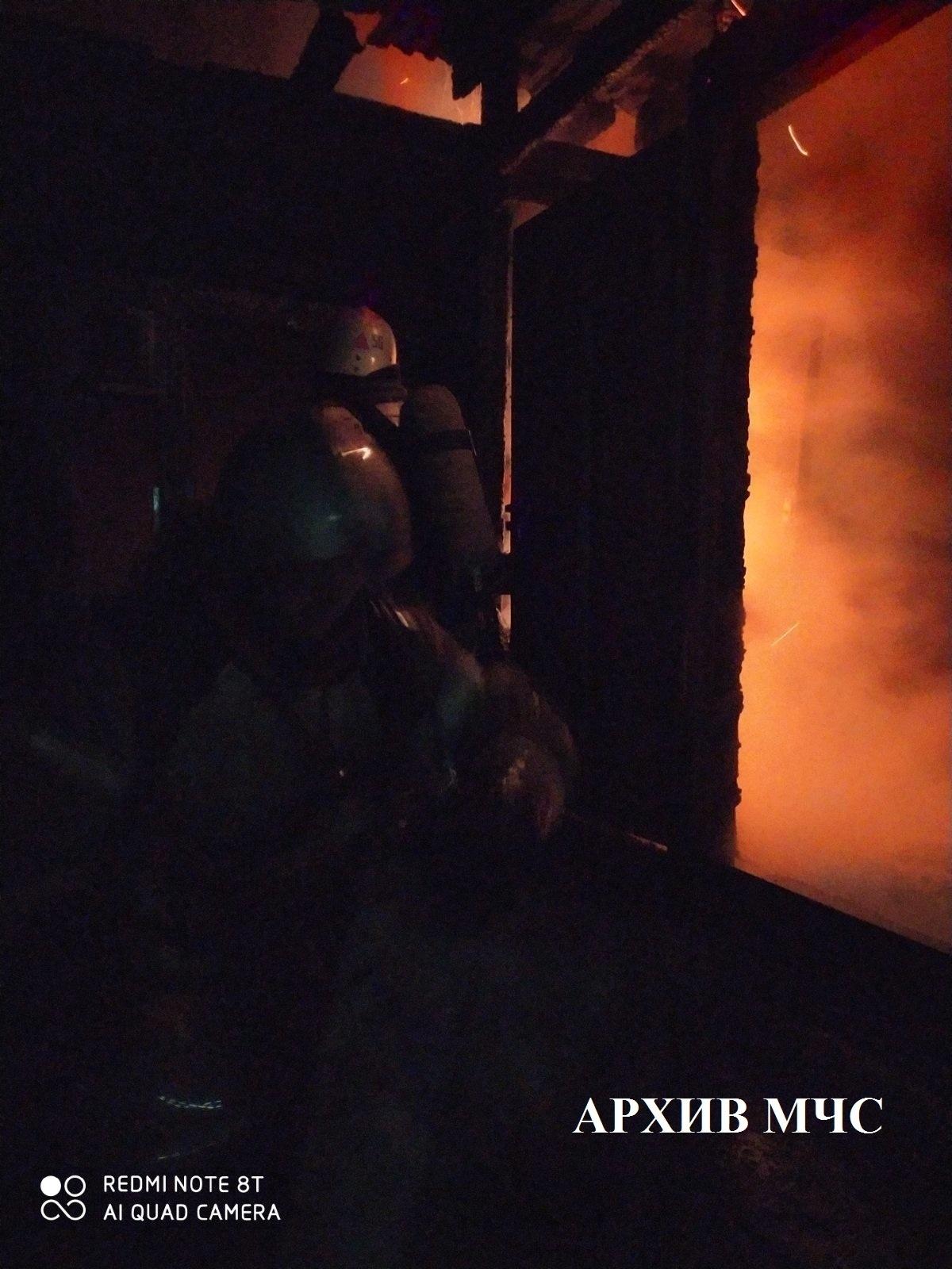 Пожар в Буйском районе ликвидирован