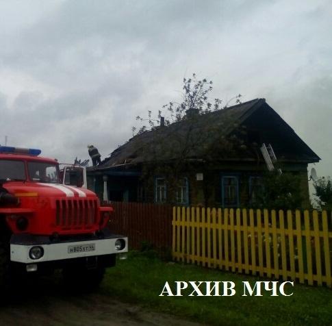 Пожар в Октябрьском районе — МЧС России по Костромской области